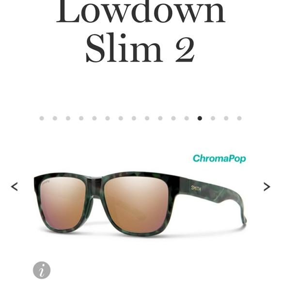 SMITH Accessories - Nwt SMITH  lowdown slim 2sunglasses rose gold lens